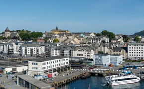 Картинка здания, Норвегия, Alesund