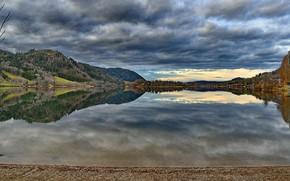 Картинка Германия, Бавария, озеро Шлирзе