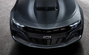 Картинка Chevrolet, Camaro, Camaro SS, передняя часть, 2019