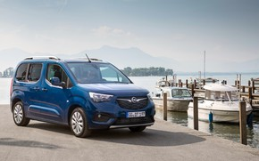 Картинка фото, Синий, Opel, Автомобиль, Минивэн, Combo Life, 2018-19