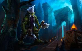 Картинка WOW, Blizzard, Art, WarCraft, Troll, Mr--Jack, by Mr--Jack, World of WarCraft, Mr Jack, by Mr …