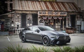 Обои Mercedes - Benz, 2018, спортивное купе, Мерседес - Бенц, Mercedes-AMG GT 63S 4MATIC+4Door-Coupe, hyacinth red ...