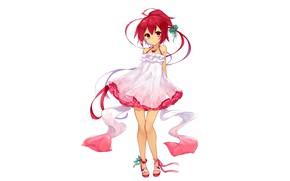 Картинка girl, anime, beautiful, short hair, pretty, redhead, attractive, handsome, Azur Lane, I 168