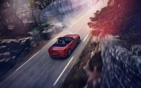 Картинка дорога, красный, движение, скалы, скорость, BMW, родстер, BMW Z4, First Edition, M40i, Z4, 2019, G29