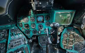 Картинка кабина, Helicopter, Mi-24 B