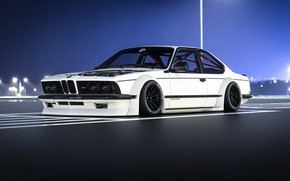 Картинка Авто, Белый, BMW, Машина, BMW M6, Рендеринг, Concept Art, Transport & Vehicles, Rostislav Prokop, by …