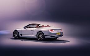 Картинка Bentley, Continental GT, вид сзади, Convertible, 2019