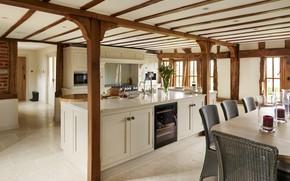 Картинка интерьер, кухня, столовая, Farmhouse, Tillingham