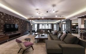 Обои стиль, интерьер, style, гостиная, living room, interior