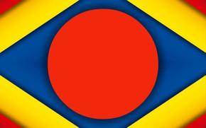 Картинка круг, тени, слои