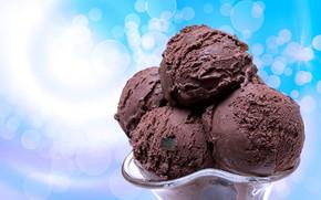 Картинка шоколад, мороженое, chocolate, sweets, Ice cream