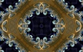 Картинка узор, цвет, ромб