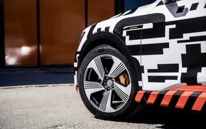 Картинка Audi, колесо, диск, 2018, E-Tron Prototype