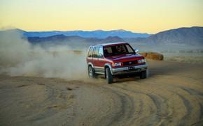 Картинка песок, пыль, грунт, SUV, Acura, 1997, AWD, 2019, Isuzu Trooper, Super Handling SLX, SLX