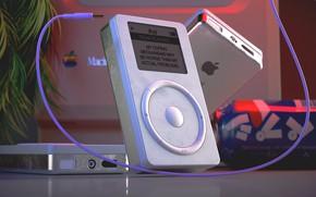 Картинка iPod, Музыка, Стиль, Арт, 80s, Style, Macintosh, Рендеринг, Illustration, Pepsi, 80's, Synth, Retrowave, Synthwave, New …