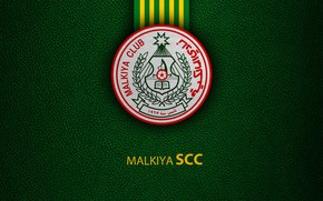 Картинка wallpaper, sport, logo, football, Malkiya Club