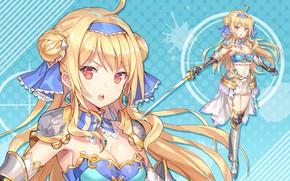 Картинка девушка, оружие, меч, Bullet Girls Phantasia