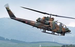 Картинка вертолёт, ударный, AH-1S