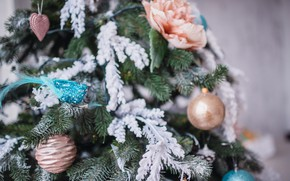 Картинка украшения, шары, елка, Новый Год, Рождество, Christmas, balls, New Year, decoration, Merry, fir tree