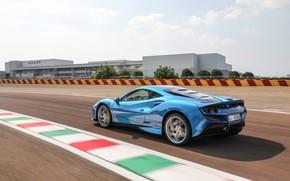 Картинка скорость, Ferrari, суперкар, 2019, Tributo, Ferrari F8
