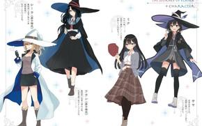 Картинка стиль, девушки, The Journey of Elaina, Majo no Tabitabi