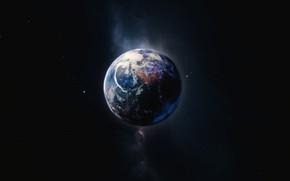Картинка Звезды, Планета, Космос, Star, Stars, Space, Planet, Science Fiction, madeinkipish, background by StarkitecktDesigns, by Drexis …