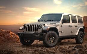 Картинка закат, 2018, Wrangler, Jeep, Unlimited, Moab Edition