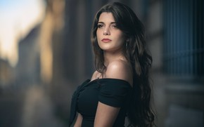 Картинка девушка, модель, боке, Salome