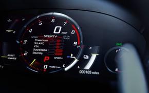 Картинка спидометр, Honda, Acura, NSX, 2019