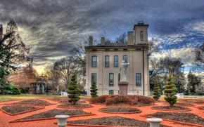 Картинка дом, вилла, сад, особняк, botanical garden, St-Louis