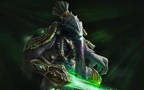 Картинка Blizzard, Protoss, StarCraft 2, StarCraft, Зератул, Zeratul, Dark Prelate, Nerazim, Тёмный Тамплиер, Dark Templar, The …