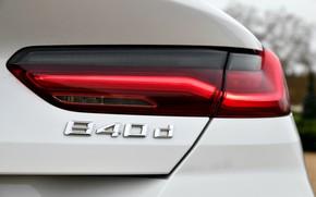 Картинка белый, купе, BMW, 2018, задние огни, 8-Series, 8er, G15, 840d xDrive M Sport