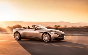 Картинка Aston Martin, скорость, 2018, Volante, DB11