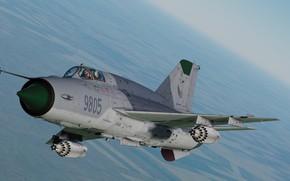 Картинка ОКБ МиГ, ВВС Чехии, МиГ-21бис, Фронтовой истребитель