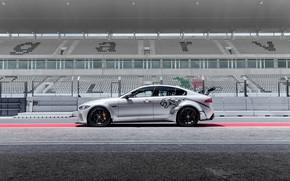 Картинка Jaguar, вид сбоку, 2018, XE SV, Project 8