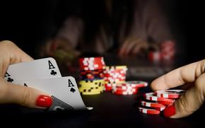 Картинка карты, покер, казино