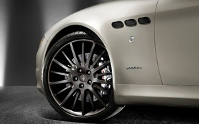 Картинка Maserati, Car, Logo, Gran Turismo, Nameplate