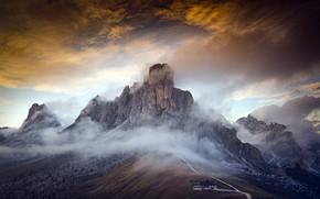 Картинка italy, dolomites, Portrait of a Mountain