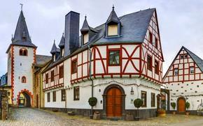 Картинка Германия, церковь, Poltersdorf