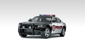 Картинка dodge, charger, usa, police car