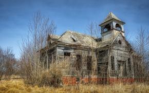 Картинка Illinois, Abandoned School House, Elmira