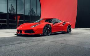Картинка Ferrari, суперкар, GTB, 2018, 488, Pogea Racing, FPlus Corsa