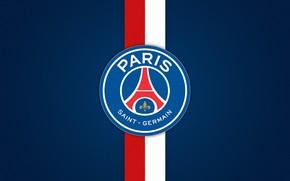 Картинка logo, football, Paris Saint-Germain