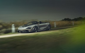 Картинка McLaren, скорость, суперкар, Spider, Novitec, 720S, 2019