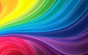 Картинка узор, краски, радуга