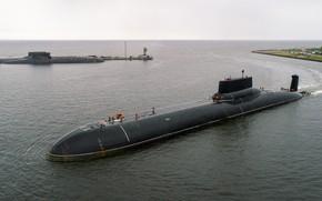 Картинка Акула, субмарина, атомная, проект 941