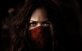 Обои Girl, Action, Red, Fantasy, Blue, Warrior, Female, Eyes, year, 2018, Women, Game, Woman, Valentine, Mortal, ...