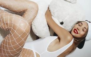 Картинка игрушка, Улыбка, медведь, кепка, Катерина, Николай Хватов, Cute Bunny