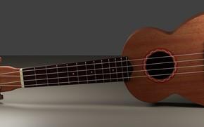 Картинка гитара, струны, инструмент, гриф