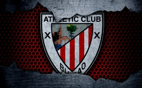 Картинка wallpaper, sport, logo, football, Athletic Bilbao